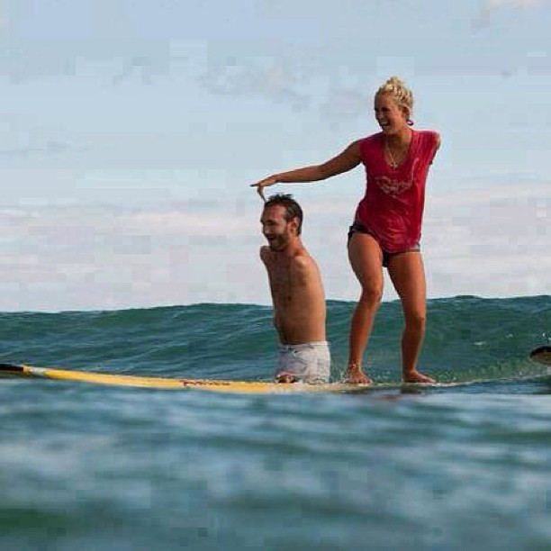 Pastor Nick Vujicic:No Limit, So Far As There Is A Loving God