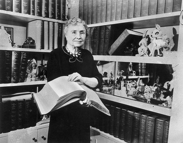 Famous inspirational people(Helen Keller)